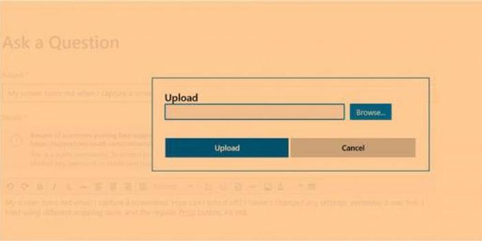 KB4512941累积更新再爆截图背景变橙色问题