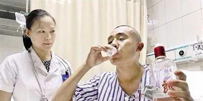 喝假酒中毒怎么办?医生:接着喝真酒