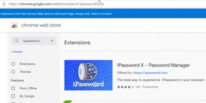 基于Chromium的Microsoft Edge 75.0.111.0新版泄露