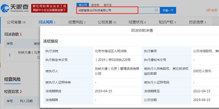 北京赛车pk10开奖记录_ofo旗下两家公司股权被冻结:共价值600万元