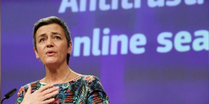 """双色球吧_欧盟反垄断专员:要在征收""""数字税""""方面起带头作用"""