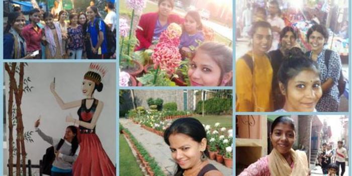 研究:自拍让德里郊区的印度女性权利意识觉醒