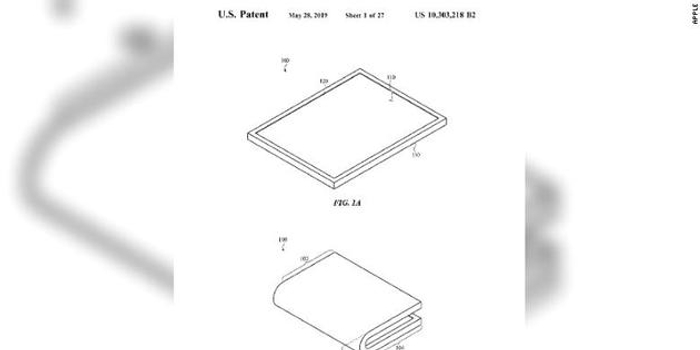 苹果获折叠屏幕专利 有望在2020年推出可折叠iPhone