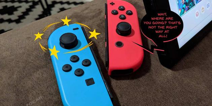 任天堂將免費修復Switch手柄漂移問題 包括過保產品