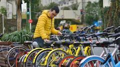 共享单车:用户规模达到2.45亿 占网民总体的30.6%