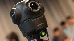 观界科技在CES Asia发布便携式VR全景相机