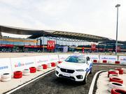 百度CES Asia路测无人车 首次采用单摄像头解决方案