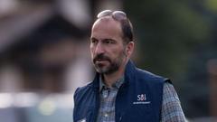 Uber正式任命科斯罗沙西为新CEO 卡兰尼克表示祝贺