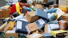 """国家邮政局:""""双11""""日快件处理量最高将破3.4亿件"""