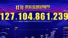 11月1日至11日 京东好物节11天累计下单金额1271亿元