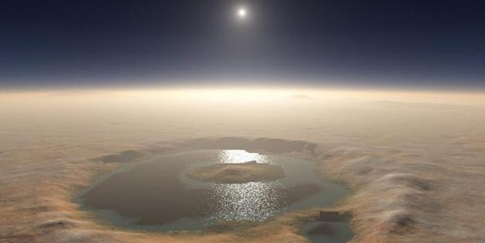 双色球开奖现场直播_如果火星上有水,那么这些水都去哪里了?