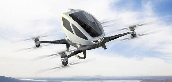 试乘亿航载人无人机:差点就上天了