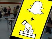 Snapchat鼓励投票:协助40多万用户注册美国中期选举