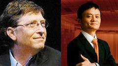 马云:花钱比挣钱难 要与比尔盖茨竞争慈善