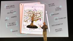 """苹果发布9.7英寸""""学生款""""iPad :售299美元"""