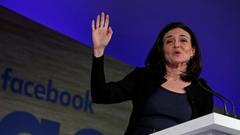Facebook COO桑德伯格已与欧盟法务专员对话