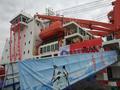 中国第34次南极考察队圆满完成任务抵达上海