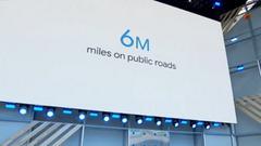 Waymo已完成600万英里路测 可对闯红灯车辆进行预测