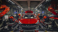 特斯拉上海投资或达百亿 年产量为目前全球产量5倍