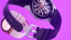 三星发布Galaxy Watch:改名之后的首款智能手表