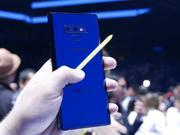外媒给三星Note9跑了个分 发现它竟然不及iPhone X