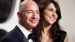 史上最贵离婚案:贝索斯妻子最高可分得660亿美元家产
