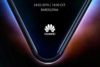 华为发布5G折叠屏手机邀请函:2月24日巴塞罗那见