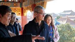 库克中国行意味深长 苹果向服务转型引争议