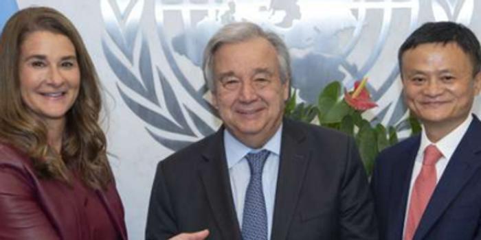 馬云聯合國發言:最大風險就是錯失這個數字時代