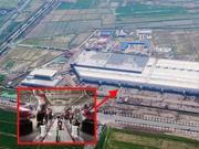 特斯拉发布上海超级工厂内部照片 预计年底开始量产