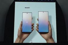 三星Note10系列手机发布:手写大屏也开始双机战略