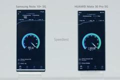 Mate30 Pro搭载首款集成式5G芯片 速度比三星还快