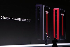 华为联手保时捷设计推出Mate30 RS保时捷设计手机