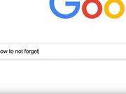 谷歌超级碗广告:如何不会忘记 (视频)