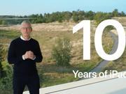 苹果库克:iPad已售出超过5亿台 连续10年用户满意度第一