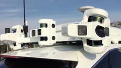 苹果无人驾驶道路测试车达45辆:超越Uber与特斯拉