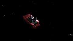 马斯克展示SpaceX发射动画:模拟超跑怎么被送上火星