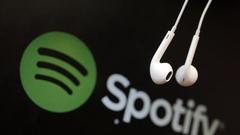 Spotify与腾讯音乐换股结盟 各持对方少数股权
