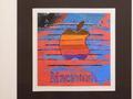 艺术家绘制的苹果彩虹Logo 据说能卖到3万美元