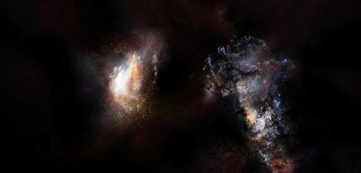 暗物质环包裹合并星系潜在孕育宜居行星