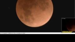 """""""超级蓝月月全食"""" 超3300万人一起看新浪科技直播"""