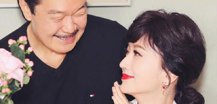 64岁赵雅芝为自己庆生