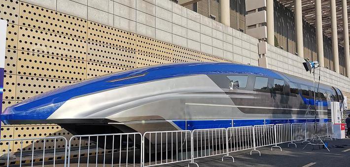 时速600公里高速磁悬浮真车首次亮相