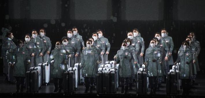 抗疫题材民族歌剧《天使日记》在鄂首演