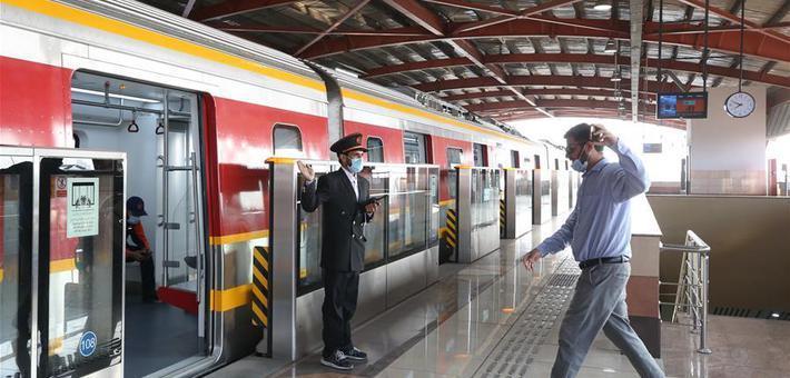 中国制造 巴基斯坦首条地铁正式开通