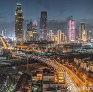 五光十色的天津夜晚