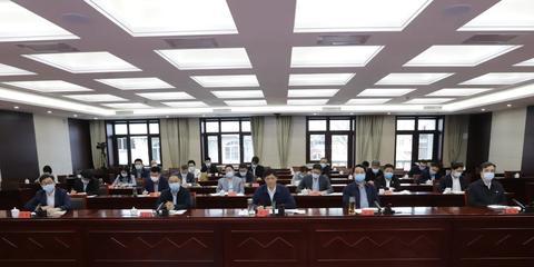 市政法队伍教育整顿领导小组办公室主任(扩大)视频会议召开