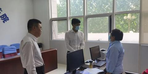 赵飞深入基层政法单位暗访检查政法队伍教育整顿工作