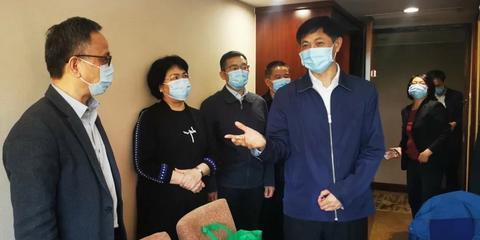 赵飞深入基层调研督导检查本市第一批政法队伍教育整顿工作