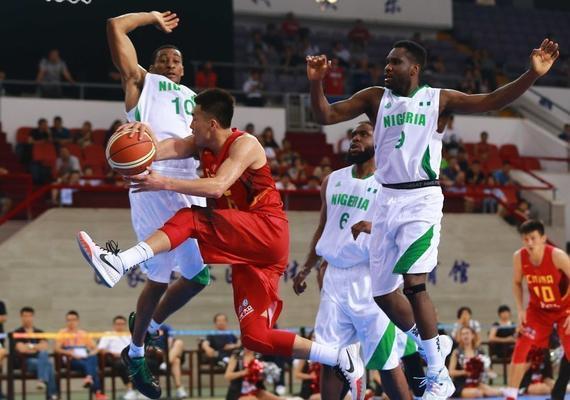 中国男篮斯杯首站不敌尼日利亚